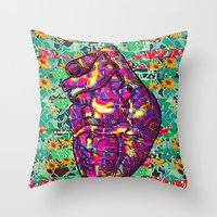 Give Strong (1) Throw Pillow