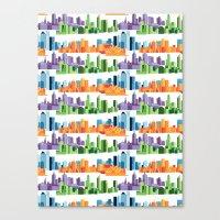 Australian Cities Canvas Print