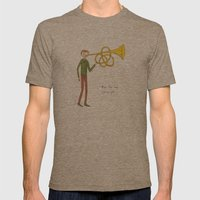 blow the horn you've got Mens Fitted Tee Tri-Coffee SMALL