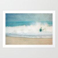 Beach - Ocean Blues Art Print