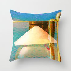 Tétrodlabel Throw Pillow