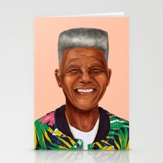 Hipstory - Nelson Mandela Stationery Cards