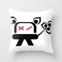 Kromo Tshirt Throw Pillow