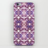 Purple Circle iPhone & iPod Skin