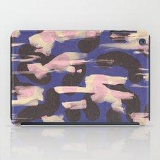 Paint Marks Camo Abstract Pattern iPad Case