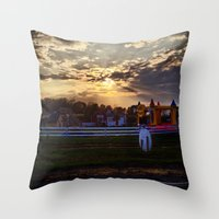 Throw Pillow featuring What Happened...? by Devin Sullivan