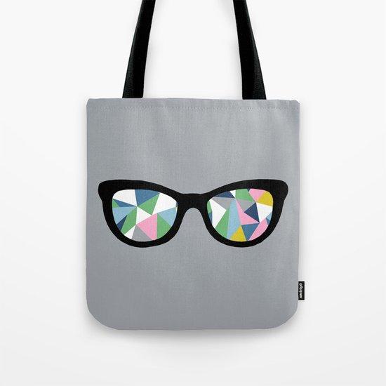 Abstract Eyes Tote Bag
