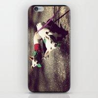 Blanca Y Lobo iPhone & iPod Skin