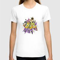 Olie Womens Fitted Tee White SMALL