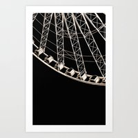 Rollercoaster 2 - For Ip… Art Print