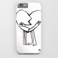 2 of hearts iPhone 6 Slim Case