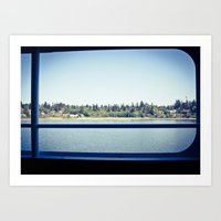 From The Ferry Art Print