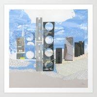 In Between Sea & Sky Art Print