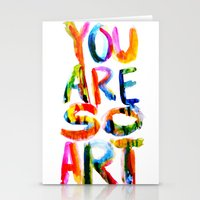 You are So Art Stationery Cards