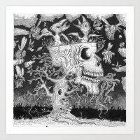 Tree of Strife Art Print
