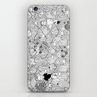 Non posso legarti ma provo a tenerti iPhone & iPod Skin
