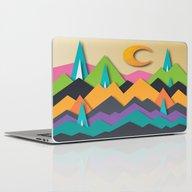 The Glass Mountains Laptop & iPad Skin