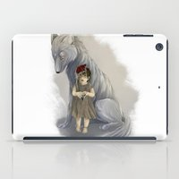neither human nor wolf iPad Case