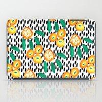 Citrus And Leaves II iPad Case