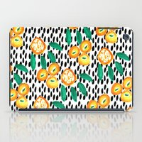 Citrus and Leaves II iPad Case