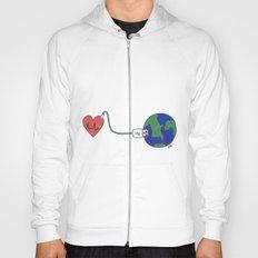 World and Love Hoody
