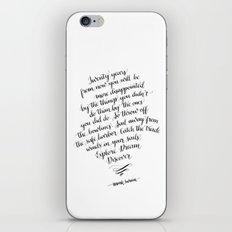 Explore. Dream. Discover. iPhone & iPod Skin