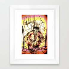 Mover and Shaker Framed Art Print