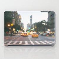 New York City Blur iPad Case