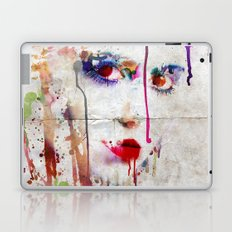 Drip face Laptop & iPad Skin