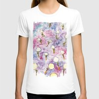 Dandelion, where you want to go? Womens Fitted Tee White SMALL