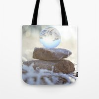 Glass Ball & Frost Tote Bag