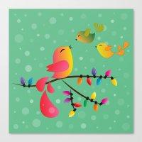Merry Christmas, My Babi… Canvas Print