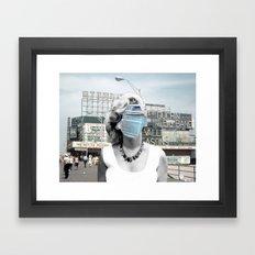 Marilyn meets Atlantic City Framed Art Print