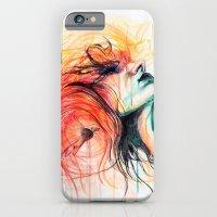iPhone & iPod Case featuring Metamorphosis-Bird of paradise by KlarEm