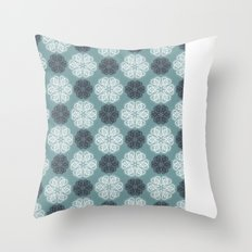 PAISLEYSCOPE posh (jade) Throw Pillow