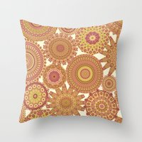 Millefiori Karma-Canyon colorway Throw Pillow