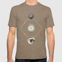 UNIVERSOS PARALELOS 006 Mens Fitted Tee Tri-Coffee SMALL
