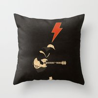 ACDC - For Those About T… Throw Pillow