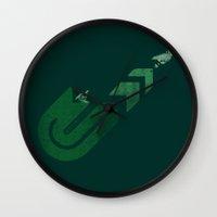 Gradius Wall Clock