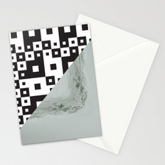 waves/grid #7 Stationery Cards