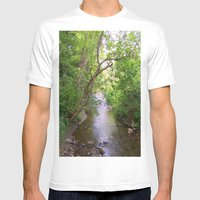 Bliss Mens Fitted Tee White SMALL