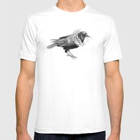 The Crow - Tangled Mens Fitted Tee White SMALL
