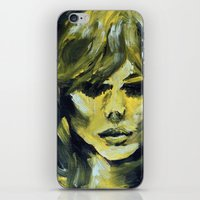 THE YELLOW QUICK PORTRAIT iPhone & iPod Skin