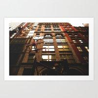 City Life Art Print