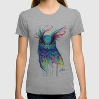 -Aurora- Womens Fitted Tee Athletic Grey SMALL