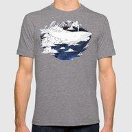 Dream Big Mens Fitted Tee Tri-Grey SMALL