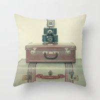 Leave Nothing Behind Throw Pillow