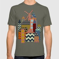 Geo Town Mens Fitted Tee Lieutenant SMALL