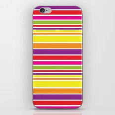 sunshine stripe iPhone & iPod Skin