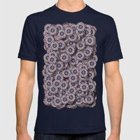 Gerbera Mens Fitted Tee Navy SMALL